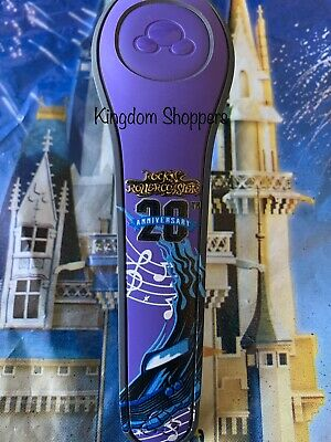 Disney Rock N Roller Coaster 20th Magic Band Magicband Link It Later NEW BLUE