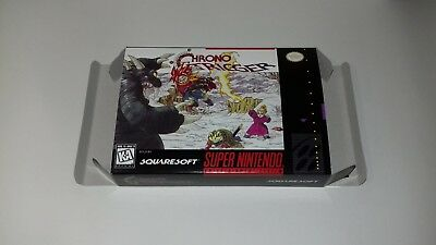 Chrono Trigger - NTSC - Super Snes - Snes - Only Box