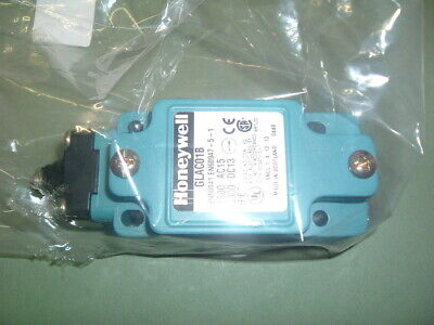 Honeywell ............. Glac01B....... Limit Switch Plunger Type... New Packaged