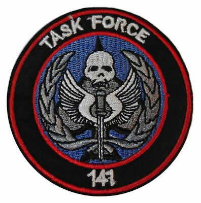 Task Force FDN Larry McDonald Fuerza Tarea Military Subdue Iron On Patch