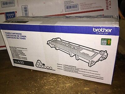Genuine Sealed OEM Brother TN-630 Toner Cartridge; Exp:180108