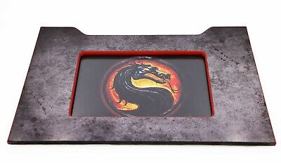 Arcade1up Mortal Kombat Marquee Mood Lit Riser Front Replacement Completed