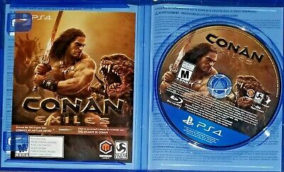 Conan Exiles: Day One Edition (Sony PlayStation 4, 2018) PS4 EXCELLENT Condition