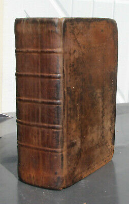 1794 antique Holy Bible **professionally restored** 225 yrs. old!! BEAUTIFUL