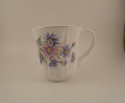 Duchess Coffee Mug Cup Asters September Flower of The Month Bone China