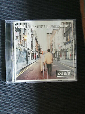 oasis cd what s the story - morning  glory