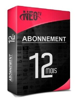 NÉO PRO 2 12 MOIS TOUT SUPPORTS Smarttv Android iOS MAG m3u