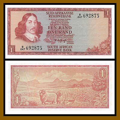 1973 ND P-116a UNC /> Sheep South Africa 1 Rand