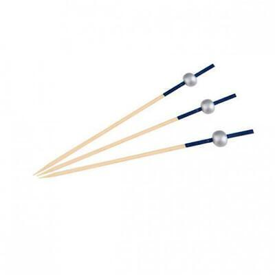 100 x Disposable Bamboo Skewer Marine Style 100mm Catering Functions Party
