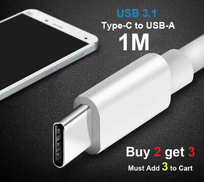 Fast Charging USB-C Type C Data& Charger Cable for Samsung Huawei Xiaomi Google