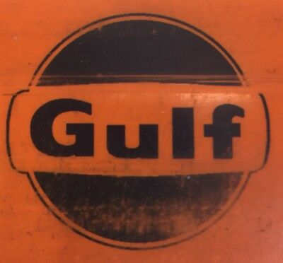 The GULF REFINING COMPANY Vintage Drivers Card Oil Gas
