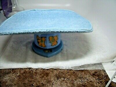 Vintage Working Counselor Baby Scale Blue Metal Nursery Decor