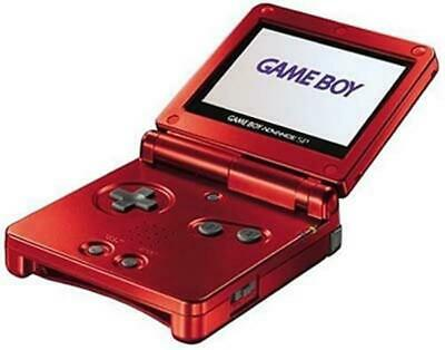 Nintendo Game Boy Advance Sp Red System