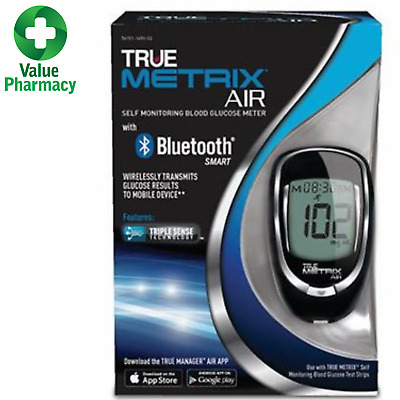 True Metrix Air With Bluetooth Blood Glucose Monitor Free Postage