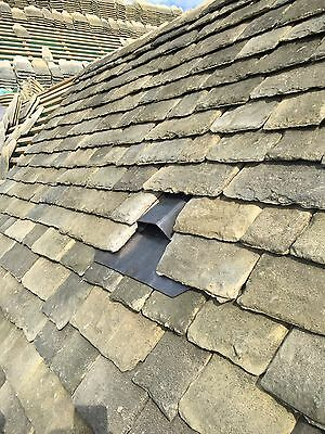 """4"""" Extractor fan hose & Lead roof Vent to suit all pitched roof types"""