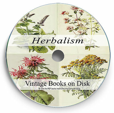 Rare Herb Books on DVD - Natural Herbal Cures Homeopathy Medicine Remedy 274
