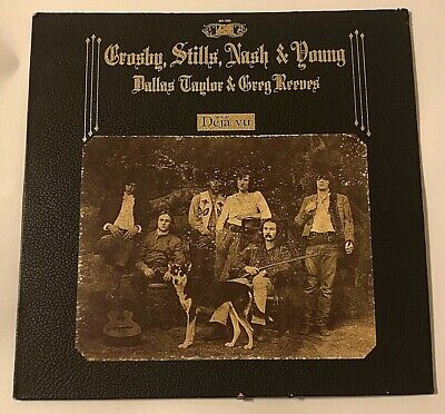 Crosby Stills Nash Young Dallas Taylor & Greg Reeves Deja Vu Vinyl 1970 SD-7200