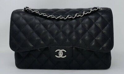 6c8dcb53 NWT 2018 CHANEL 18B Red Caviar Mini Quilted Classic Flap Rectangle ...