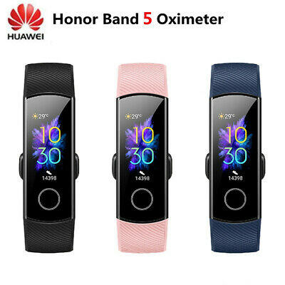 "Huawei Honor Band 5 Fitness Smart Watch 0.95"" AMOLED Bluetooth 4.2 Waterproof"