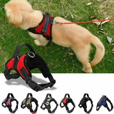 No Pull Dog Harness Outdoor Adventure Pet Vest Padded Handle Small Extra Large
