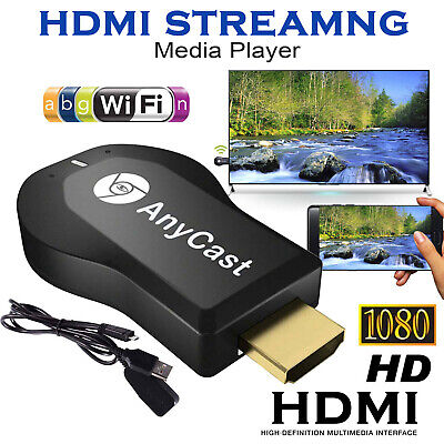 WiFi HDMI Anycast Miracast Airplay TV Wireless Display DLNA Dongle Adapter