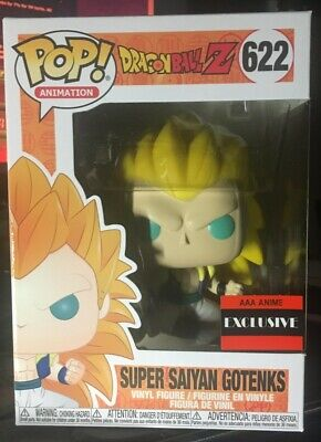 Funko Pop Super Saiyan Gotenks Dragon Ball Z AAA Anime Exclusive #622