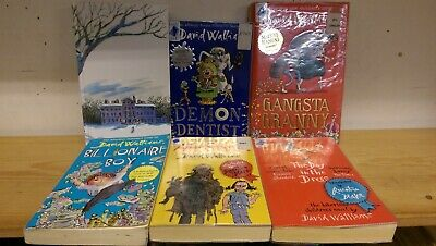David Walliams: collection of 6 children's fiction books