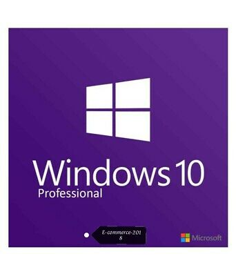 Microsoft Windows 10 Pro license key INSTANT DELIVERY Genuine Lifetime 32/64 Bit
