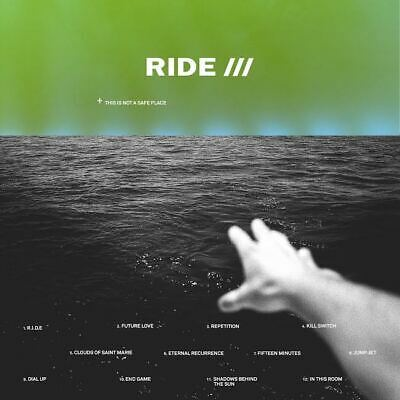 Ride This Is Not A Safe Place New Sealed Black Vinyl 2Lp In Stock