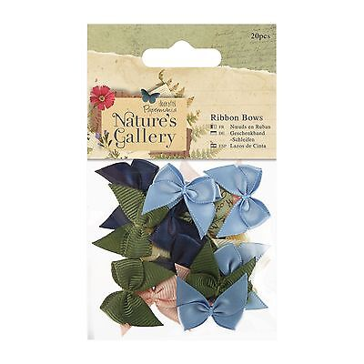 RIBBON BOWS - Nature's Gallery Collection - Docrafts