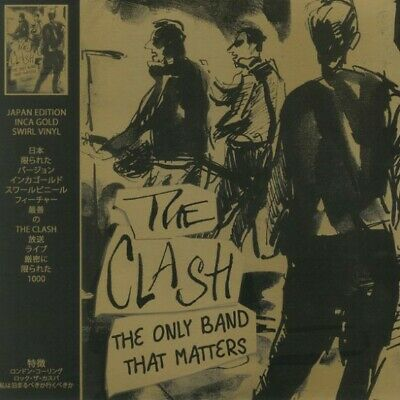 The Clash - The Only Band That Matters Japan Limited Edition Inca Gold Swirl