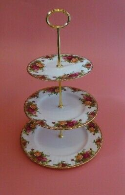 Royal Albert Old Country Roses 3 Tier CAKE STAND