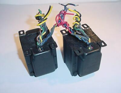 Fisher 400 receiver OUTPUT TRANSFORMER PAIR for DIY 7868 project