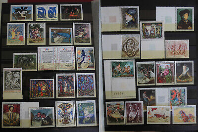 Lot 34 Tableaux FRANCE 1961/1977 neuf ** FRENCH FRANCIA FRANKREICH MNH timbres