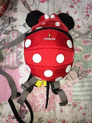 Littlelife Mini Mouse backpack with reins