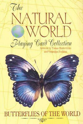 NEW Butterflies of the World By Tomas Markevicius Game Free Shipping