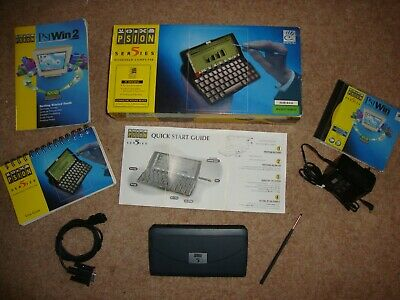 Psion Series 5 PDA, Boxed, with software, manuals, cables and PSU
