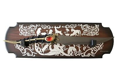 GAME OF THRONES - CATSPAW DAGGER, ARYA STARK'S DAGGER (with FREE wall plaque)