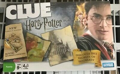 Brand NEW Sealed 2008 Parker Brothers Harry Potter Edition CLUE Board Game