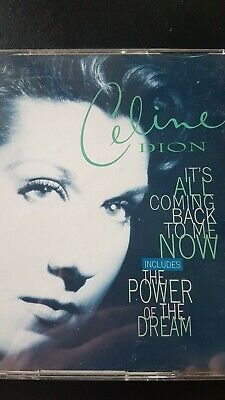 Celine Dion CD Power Of The Dream Single