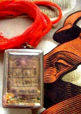 BACK to SCHOOL SECRET PROTECTION MAGIC AMULET,SUCCESS,GOOD LUCK CHARM by LP KOON