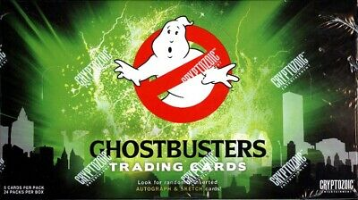 2016 Cryptozoic Ghostbusters Trading Cards Sealed Hobby Box Free S&H