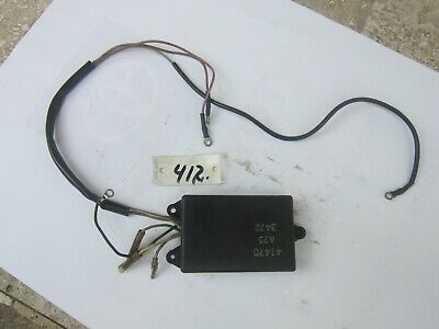 Mercury Outboard 200hp 2.5L Black Max V6 2 stroke rectifier regulator 815279-3