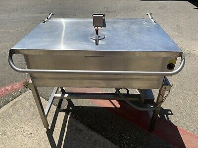 Groen (NFPC-4) 40 Gal. Electric Braising Pan 480V 3 Phase