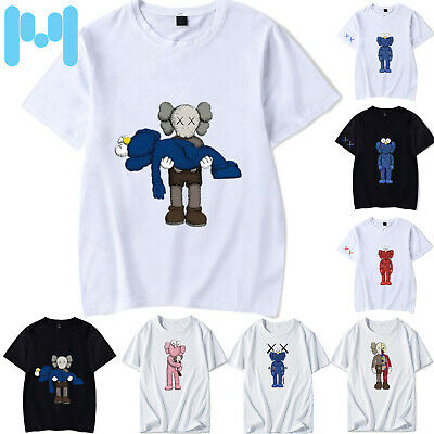NEW KAWS UNIQLO UT Summer Casual 2019 T-Shirt 6XL Size BFF Tee Men COMPANION Top