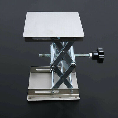 Laboratory Lifting Platform Woodworking Stainless Steel Silver Latest Durable