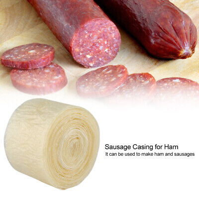 VEGETARIAN SAUSAGE CASINGS (VEGAN, HALAL), 20mm / 16 HALF