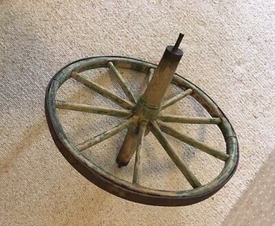 Genuine Antique Wheelbarrow Wheel