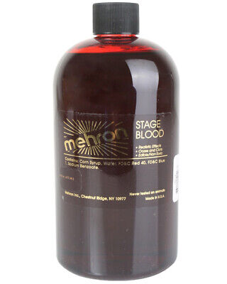 A854 Mehron Stage Fake Blood Halloween Special Effect Costume Makeup Dark Venous