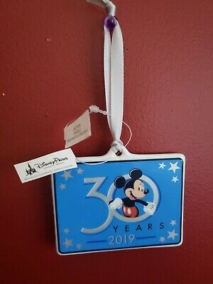 NEW Disney Hollywood Studios 30th Anniversary 30 Years Holiday Ornament 2019